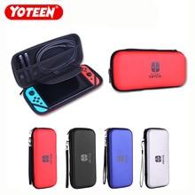 Capa protetora para nintendo switch, bolsa de luxo resistente à prova dágua para console, acessório para jogos