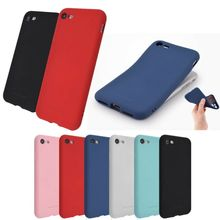 цена на Silicone Phone Case For Apple iPhone XS Max / XR XS X / 8 8 Plus / 7 7 Plus/ 6 6sP No Logo Cases Cap