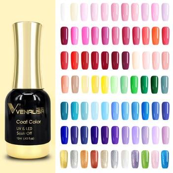 Nail Art 2021 New Venalisa Nail Paint Gel 12ml 120 Colors Gel Polish Nail Gel Soak Off UV Gel Polish Nail Lacquer Varnishes 1