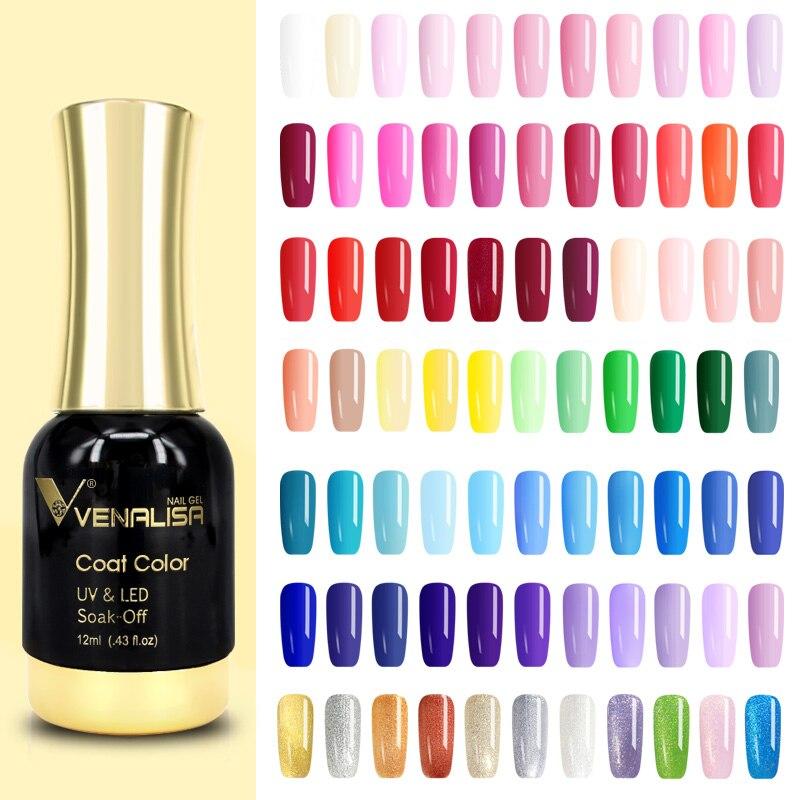Дизайн ногтей 2021 новый гель для ногтей Venalisa 12 мл 120 цветов Гель-лак для ногтей отмачиваемый УФ-гель лак для ногтей Лаки