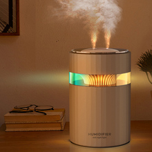 Double Mist Fogger USB Air Humidifier 900ML Ultrasonic Aroma Diffuser with Color Light Car Purifier Freshener for Home Office