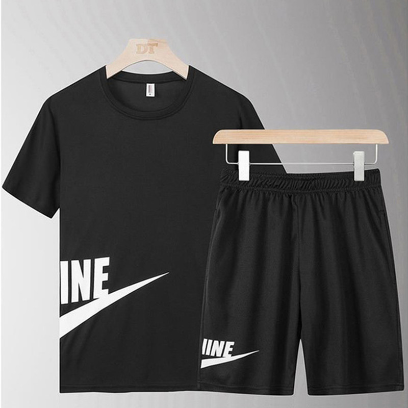 Jogging Sport Football Training Sport Suit Men Shirt + Shorts Quick Drying Running Sets Sports Joggers Gym Fitness Tracksuit