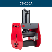 BEIZE CB-200A Hydrauilc шины Бендер медь гибочный инструмент для 12 мм Макс листа, применимый для AL/Cu лист