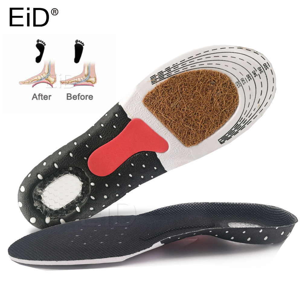 Silicone Gel Insoles Foot Care For Plantar Fasciitis Heel Spur Running Sport Orthopedic Insoles Shock Absorption Pads Men Women