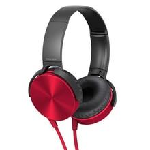 3.5mm אודיו על אוזן אוזניות עם מיקרופון מחשב לוח מחשב נייד מחשב נייד מתקפל שטוח סטריאו בס אוזניות אוזניות עם 1.2M כבל