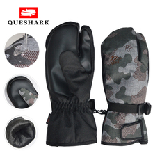 Touchscreen Waterproof Ski Snowboard Gloves Windproof Snowmobile Gloves Snow Sport Mittens Fleece Thermal Cycling Skiing Gloves