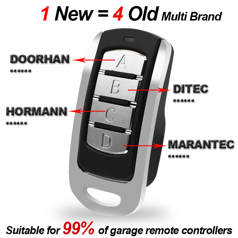 Clearance SaleCommand-Opener Duplicator Gate-Control Garage Clone Rolling-Code 287-868mhz