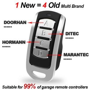 Image 2 - Garage Door Remote Control 433.92mhz Gate Control Rolling Code 287 868MHz Remote Control Duplicator Clone Garage Command Opener