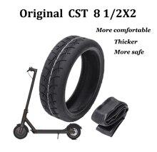 Atualizado cst pneus infláveis para xiaomi mijia m365 scooter elétrico pneu 8 1/2x2 tubo pneu substituir câmera interna