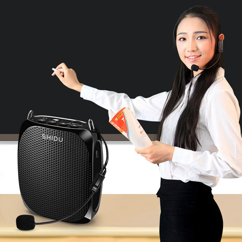 Professional Portable Megaphone High Quality Megaphone Portable Teacher Meeting Coach Church Voice Amplifier