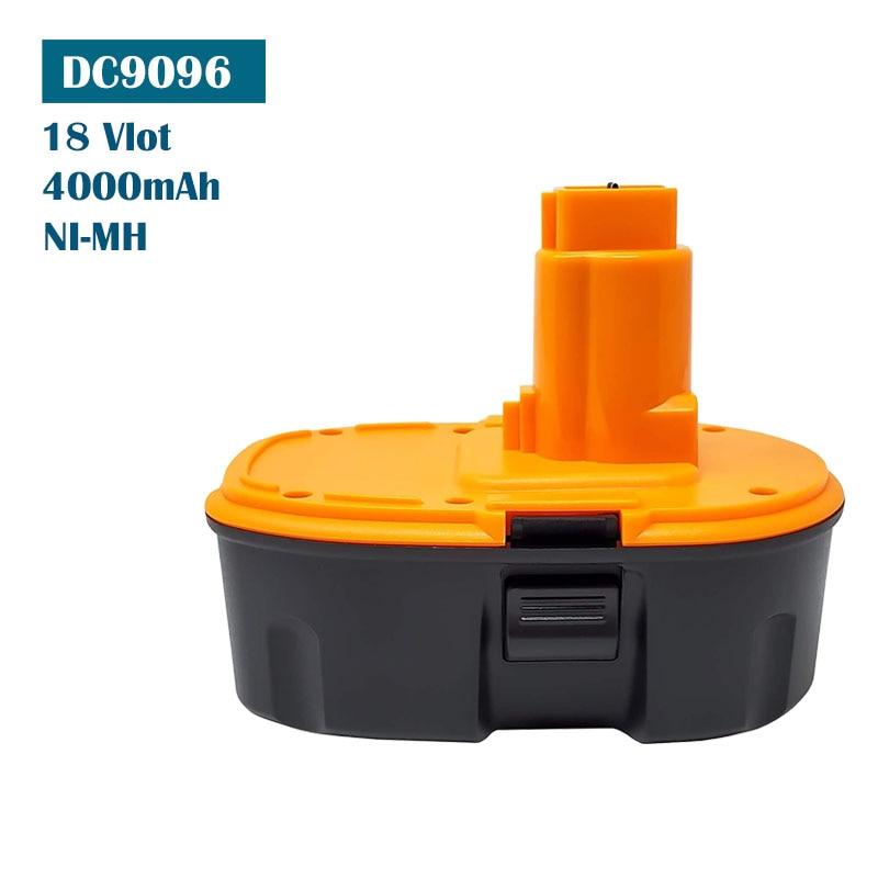 Для Dewalt 18В батарея замена DC9096 DC9098 Dewalt 18В Электроинструмент DC9096 DC9098 DC9099 DW9095 DW9096 DW9098 DE9038 Ni-MH