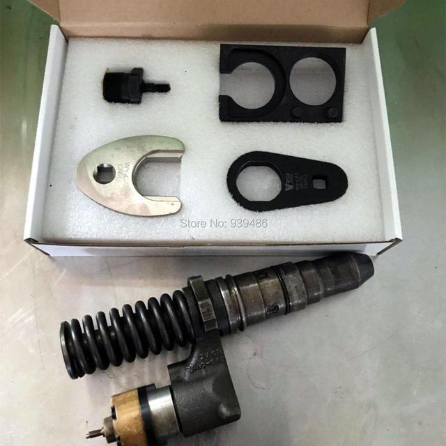 CAT C18 수리 도구 키트 어댑터 캐터필라 중간 압력 커먼 레일 디젤 인젝터 C18 클램프 렌치 분해