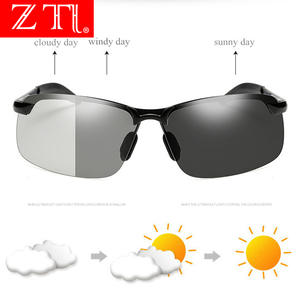 ZT Driving Photochromic Sunglasses Men Polarized Chameleon Discoloration Sun glasses man Anti-glare Goggle Sport sun glasses