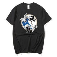 2021 Camisa masculina de manga curta 2020 novo verao égua ins marca hip-hop ocasional de manga curta meia manga estilo chines