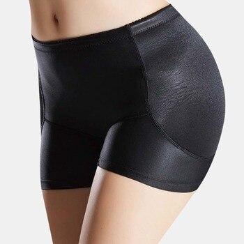 Sexy Seamless Hipbone Panties Waist Trainer Women Plus Size Padded Butt Lifter Body Shapers Tummy Shaper Hip Enhancer