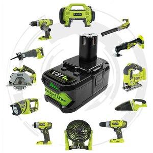 Image 5 - Bonacell 18V 4000mAh Li Ion P108 P 108 batterie Rechargeable pour batterie Ryobi RB18L40 P2000 P310 pour BIW180 L30