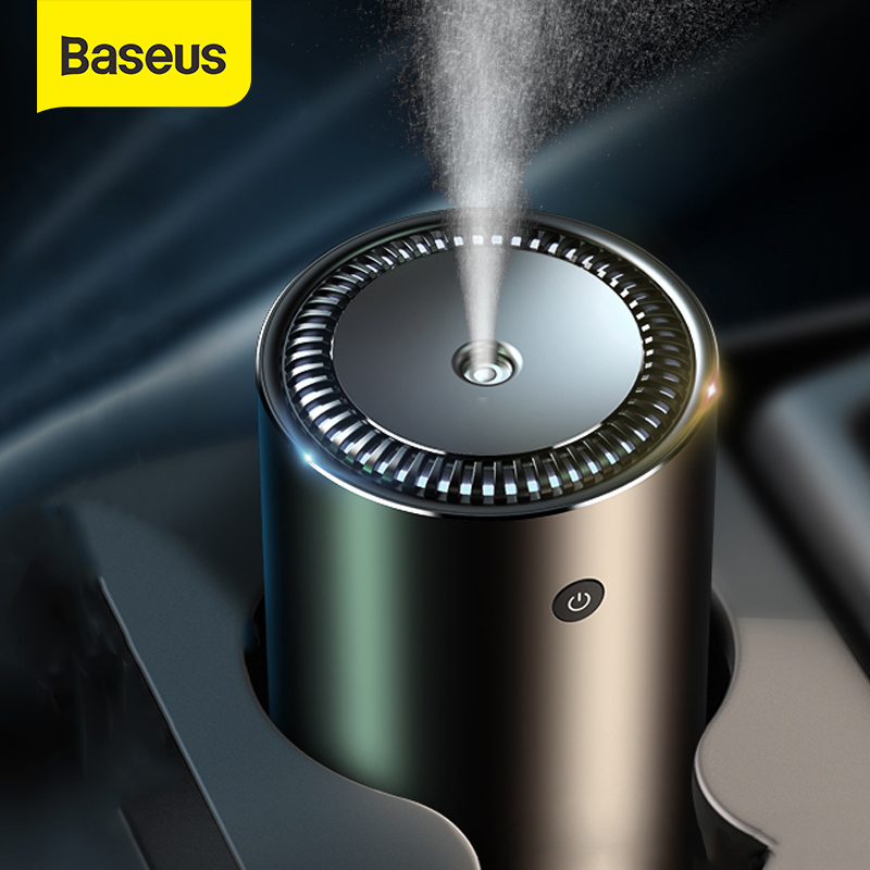Baseus Air Humidifier For Car Home Office USB Ultrasonic Aroma Diffuser Aromatherapy Essential Oil Diffuser Air Purifier