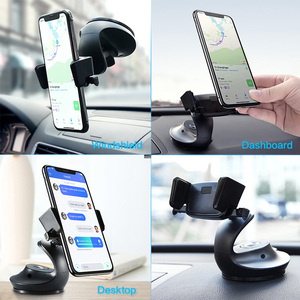 Image 2 - FLOVEME soporte para teléfono móvil Universal para Samsung S9 S8 One Touch Smartphone navegación coche para iPhone X soporte estilo soporte movil auto soporte movil coche anillo movil sujeta movil soporte movil mesa