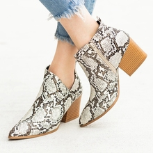 Buy 2019 Chic Summer Women Shoes Retro High Heel Ankle Boots Female Block Mid Heels Casual Botas Mujer Booties Feminina directly from merchant!