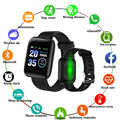 D13, умные часы для женщин, 116 плюс, браслет, пульсометр, часы, смарт-браслет, спортивные часы для мужчин, смарт-браслет, умные часы, Android IOS