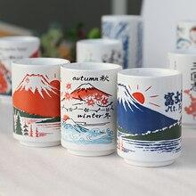Японский стиль кофейная кружка чай tazas de ceramica creativas чашки и кружки kubek ceramiczny милые canecas criativa офисная гравировка