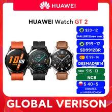 HUAWEI-reloj inteligente Watch GT 2 GT2, dispositivo con control del oxígeno en sangre y de la frecuencia cardíaca, 14 días de batería