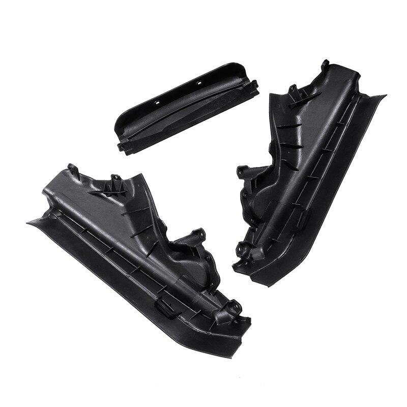 3Pcs Set Car Engine Upper Compartment Partition Panel Set For BMW X5 X6 E70 E71 E72 51717169419 51717169420 51717169421