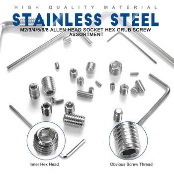 1 Set Sekrup Hexagon Stainless Steel 3