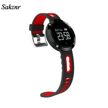 SAKZNR SAKZNR DM58 Heart Rate Monitor Pedometer Waterproof Big Battery Blood Pressure SmartWatch Multi Languages BluetoothWrist(China)