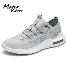 Size 39-46 Children Breathable Sports Shoes Men's Air Cushion Shoes Boys Anti-slippery Sneakers Children Breathable Run Sneakers li ning men running shoes ez run anti slippery sports shoes light lining breathable sneakers arbm053 xyp586