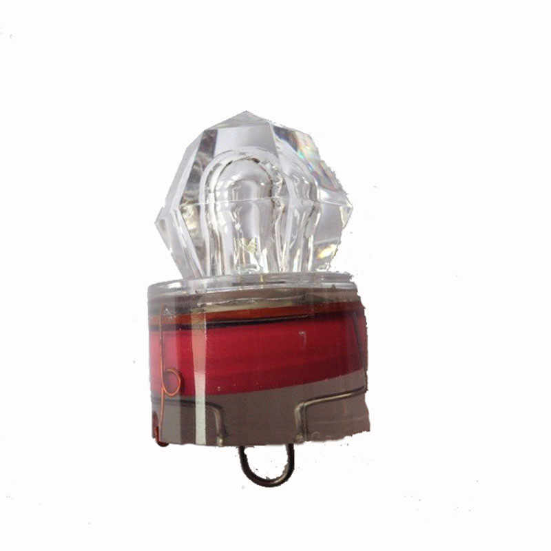 人工偽の led ディープドロップ水中ダイヤモンドフラッシュ集魚灯イカストロボ餌ルアードロップシッピング Z1029