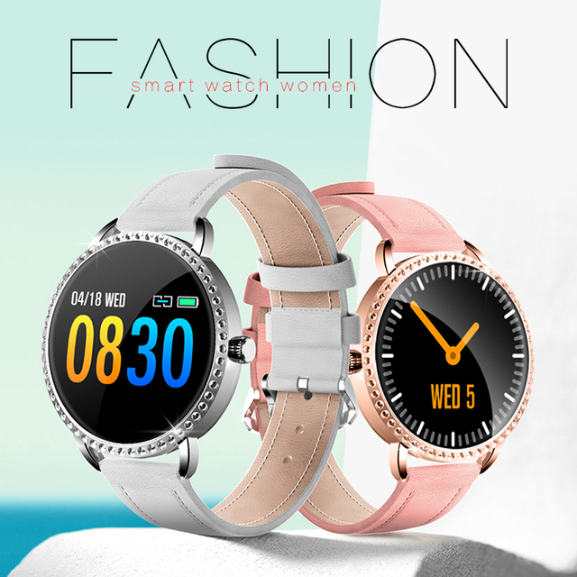 New Smart Watch in 2020 Best Smartwatch for Women Waterproof Heart Rate Monitor Fashion Watches 4