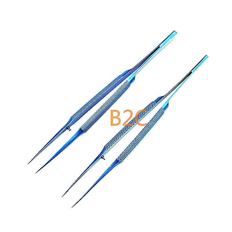 14cm Ophthalmic Tweezers Microsurgery Forceps Surgical Ophthalmic Instruments