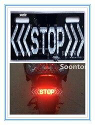 STOP LED tylne światła oświetlenie motocykla MotoTail hamulca lampka ostrzegawcza lampa dla Ducati MONSTER M400 M600 M620 M750 M750IE M900 na