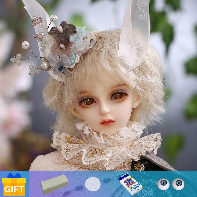 New Arrival Fairyland Minifee Iru 1/4 BJD DOLLS  FS Boy MSD Iplehouse Luts High Quality Toys Resin