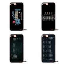 Tabla de los elementos químicos transparente fundas de carcasa blanda para Huawei Mate Honor 4C 5C 5X 6X 7 7A 7C 8 9 10 8C 8X 20 Lite Pro