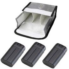 Mavic Mini patlamaya dayanıklı pil pil güvenli çanta koruyucu saklama çantası DJI Mavic Mini pil