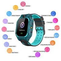 Z6 Children Smart Watch Kid Watches GPS Tracker Camera SOS Call Reminder смарт часы детскиеFor IOS Android Bracelet детские часы|Smart Watches| |  -