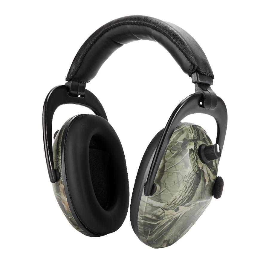 Image 3 - Electronic Tactic Shooting Ear Protection Earmuffs Anti noise Ear Protector NRR 28db Hearing Protector Headphones Soundproof hotEar Protector   -
