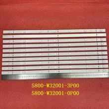 15 PCS/lot 7LED LED backlight strip for Skyworth 32E3 32X3000 32E3000 32HX4003 5800 W32001 3P00 0P00 CRH A323535030751AREV1