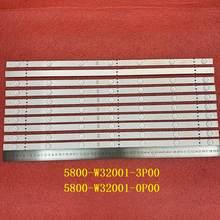 15 PCS/lot 7LED LED backlight strip for Skyworth 32E3 32X3000 32E3000 32HX4003 5800-W32001-3P00 0P00 CRH-A323535030751AREV1