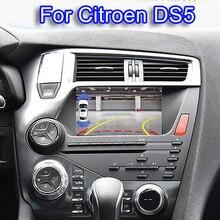 Dört çekirdekli Android 6.0 1024*600 araba dvd stereo Citroen DS5 otomobil radyosu GPS navigasyon ses Video WiFi