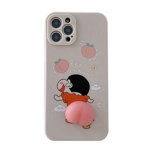 Image 5 - לחץ חמוד קריקטורה Xiaoxin קמצוץ pp נייד טלפון מקרה iphone 8 בתוספת iphone 11 iphone xs מקסימום iphone 8 בתוספת מקרה