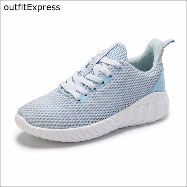Women Walking Shoes Breathable New Arrival Sport Shoes Four Seasons Lace Up Shock Absorption Outdoor Sneakers Female Gym Shoes