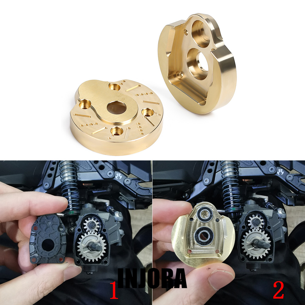 2PCS Portal Steering Knuckle Heavy Brass Cup For RC Crawler Axial SCX10 III AXI03007 & Capra 1.9 UTB AXI03004 Upgrade Part