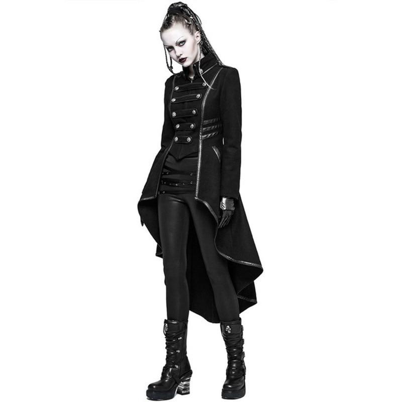 Head3772bbe424eff92f6c8bc2e433b95r JIEZuoFang Black Medieval Dress For Adult Women Punk Victorian Retro Costume Renaissance Gothic Jacket Tuxedo Halloween Costumes
