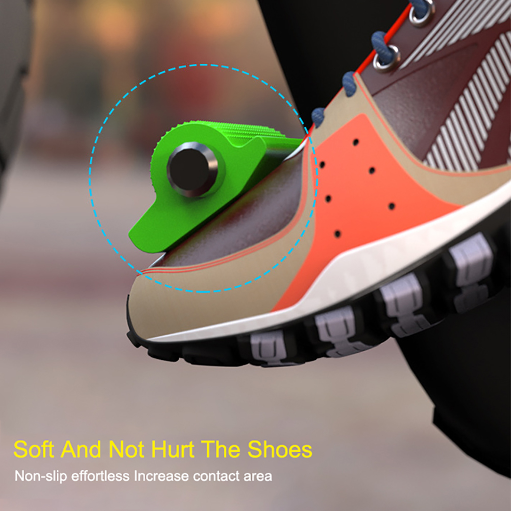 Universal Motorcycle Shift Gear Lever Pedal Rubber Cover Shoe Protector Foot Peg Toe Gel for Honda Kawasaki Yamaha Accessory