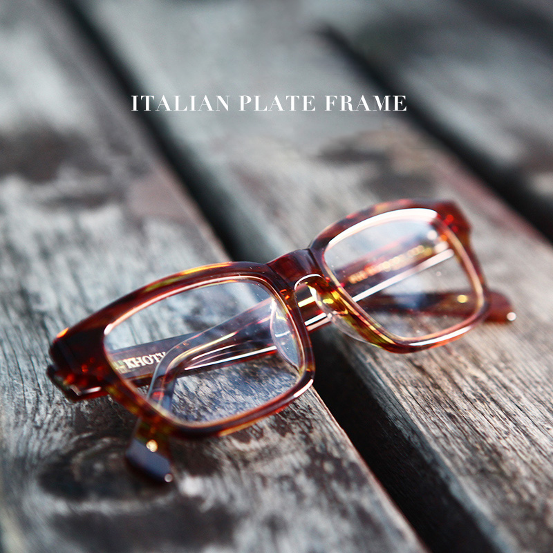 Zerosun Vintage Eyeglasses Frame Men Women Tortoise Glasses Man Fake Fashion Eyewear Acetate Janpan Retro