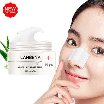 LANBENA Blackhead Remover Mask Facial From Black Dots Remove Peeling Pore Strip Fabric Acne Nose Repair Skin Care - discount item  10% OFF Skin Care