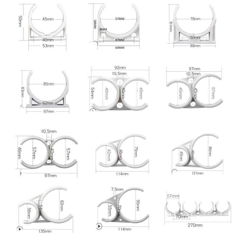 1Pc Ro Water Filter Beugel Montage Plastic Clip Voor Omgekeerde Osmose Membraan